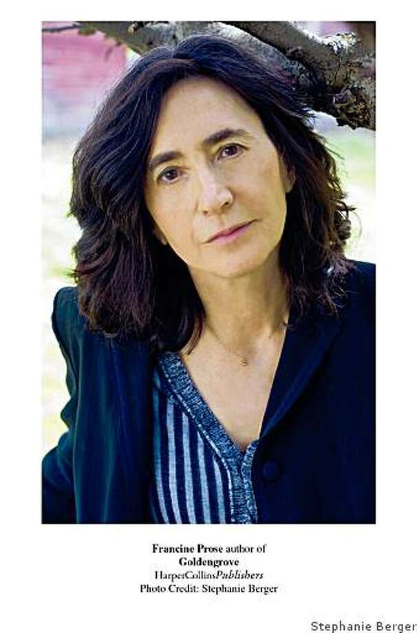 "Francine Prose, author of ""Golden Grove"" / Credit: Stephanie Berger / FOR USE WITH BOOK REVIEW ONLY Photo: Stephanie Berger"