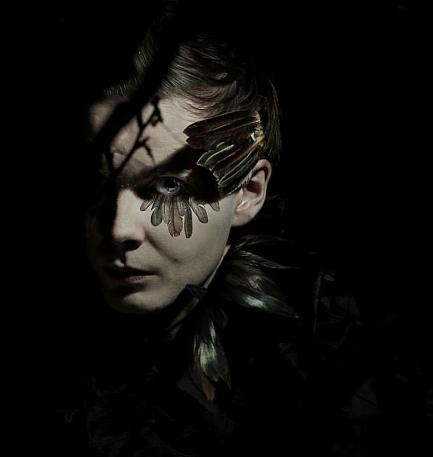 "Sigur Ros singer Jonsi is touring behind his first solo album, ""Go."" Photo: Press Here"