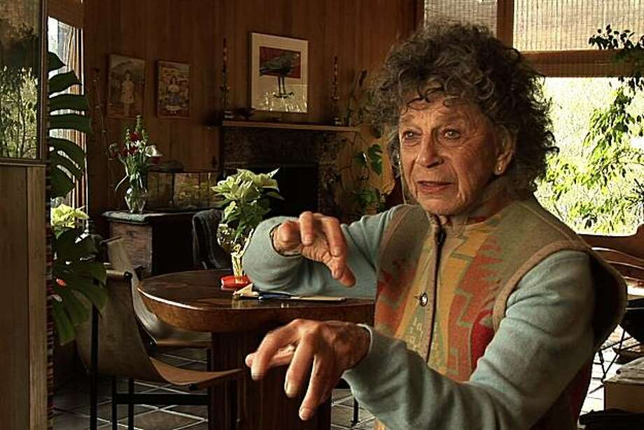 BREATH MADE VISIBLE is the first feature length film about the life and career of Anna Halprin, the American dance pioneer who has helped redefine our notion of modern art with her belief in dance's power to teach, heal, and transform at all ages of life. Photo: ZAS Films