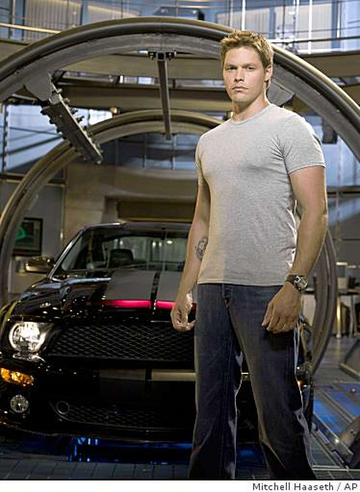 In this image released by NBC, Justin Bruening stars as Mike Tracer in