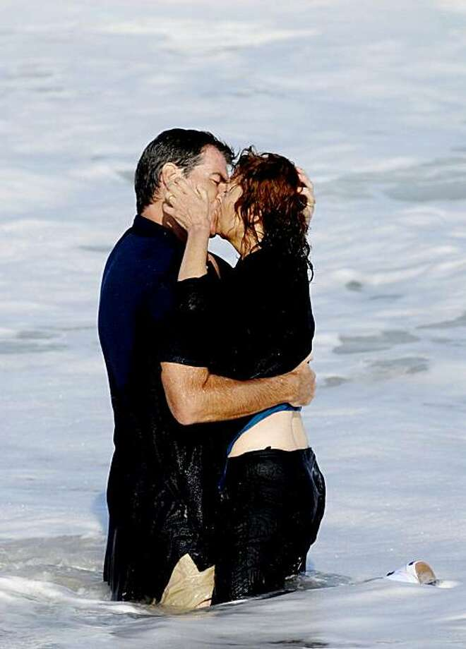 """Pierce Brosnan and Susan Sarandon in """"The Greatest."""" Photo: Paladin Pictures"""