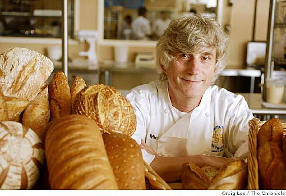 Michel Suas, founder of the San Francisco Baking Institute in South San Francisco, Calif., on September 9, 2008 Photo: Craig Lee, The Chronicle