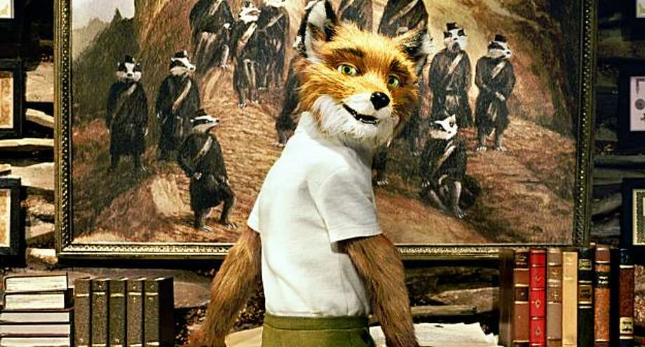 "In this film publicity image released by Fox Searchlight films, the character Mr. Fox is shown in a scene from, ""Fantastic Mr. Fox."" (AP Photo/Fox Searchlight) Photo: Fox Searchlight, AP"