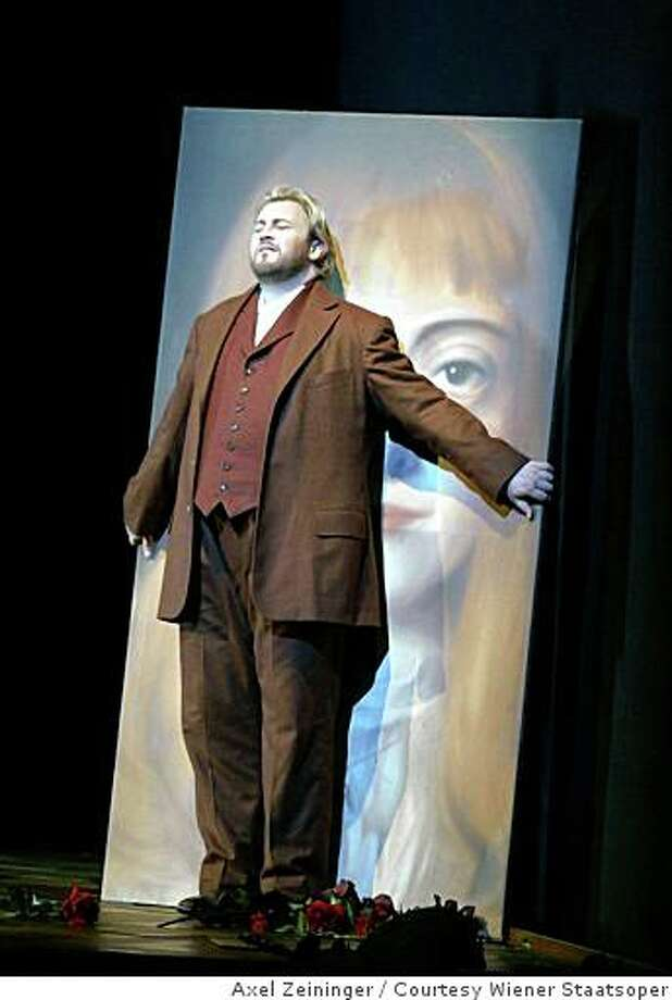"""Torsten Kerl will sing the lead role of Paul in San Francisco Opera's production of """"Die Tote Stadt."""" 2008 Photo: Axel Zeininger, Courtesy Wiener Staatsoper"""