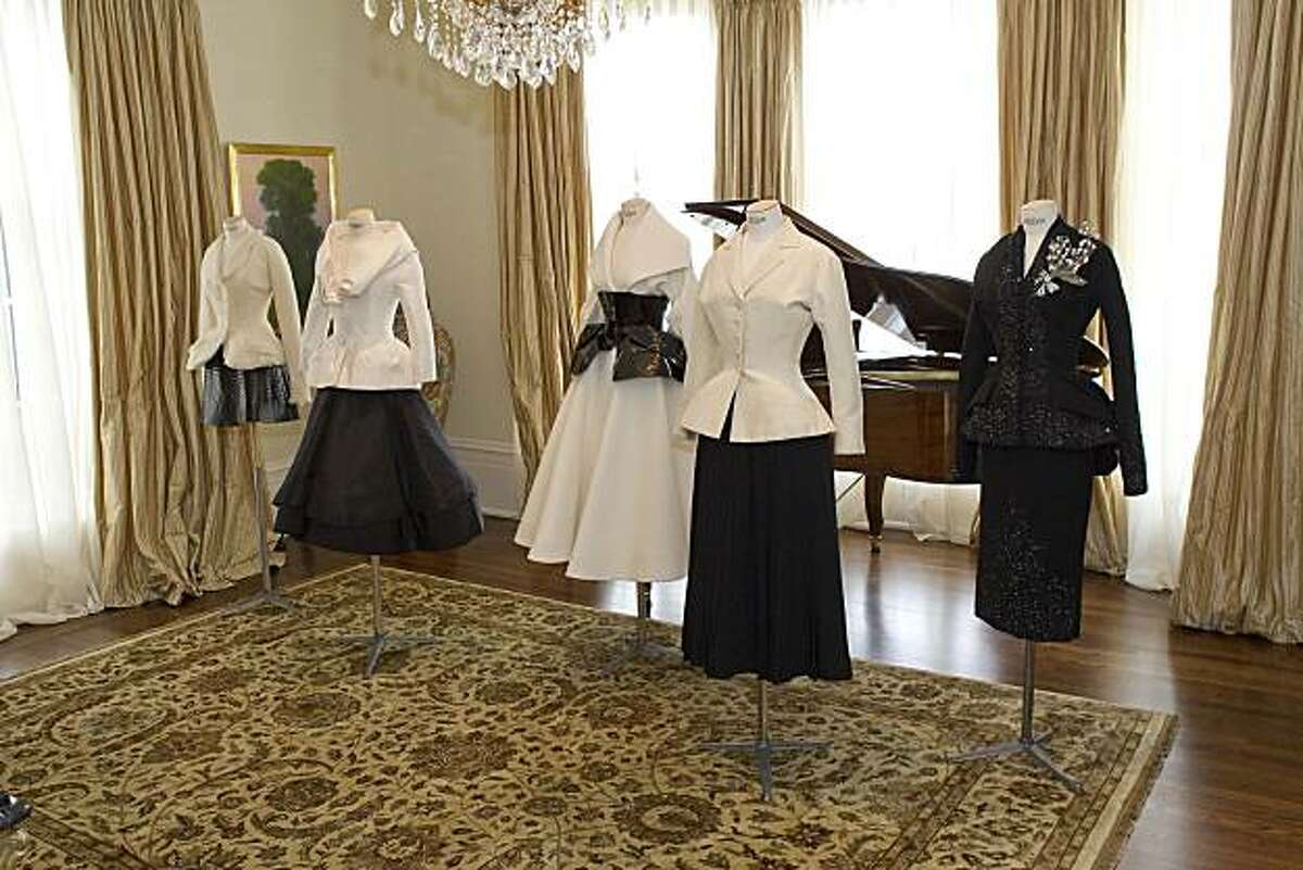 Select pieces from the archives of Christian Dior in Paris were shipped and put on display at the home of Pamela Joyner at a luncheon to introduce stylish San Francisco women to Dior's history, and its spring 2010 collection of clothing. Atmosphere