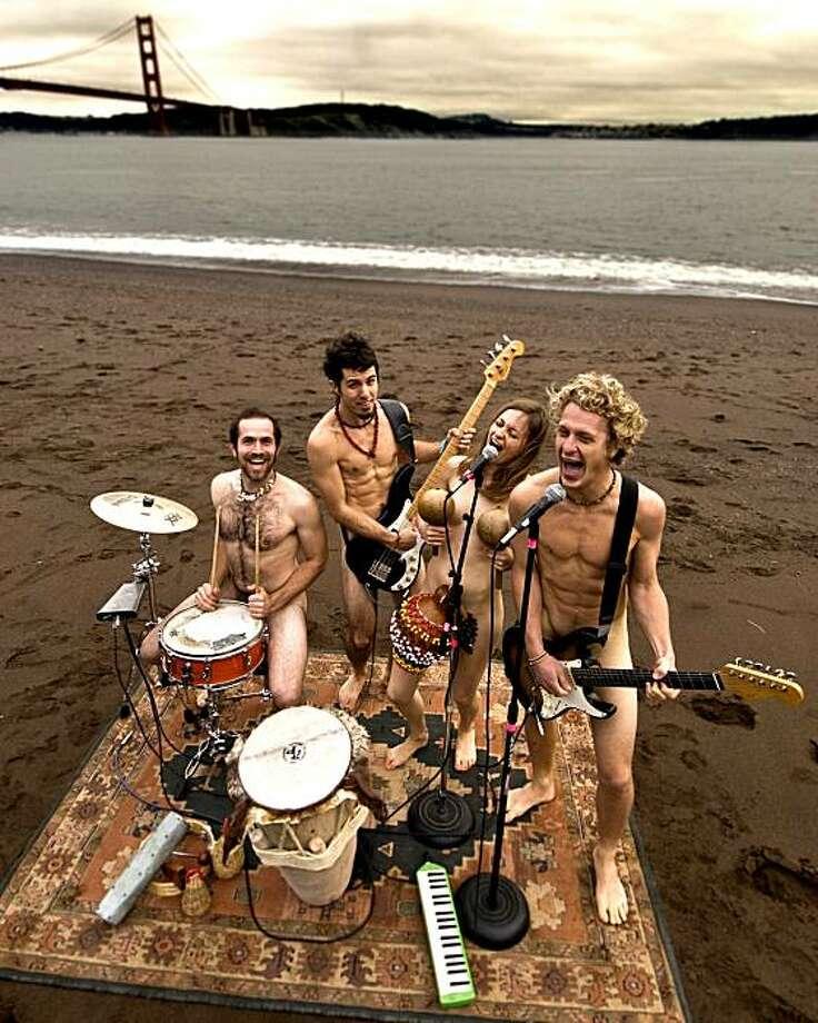 Antioquia is Craig Miller (from left), Paul Martin, Mana Maddy, Adley Penner Photo: Scott Finsthwait