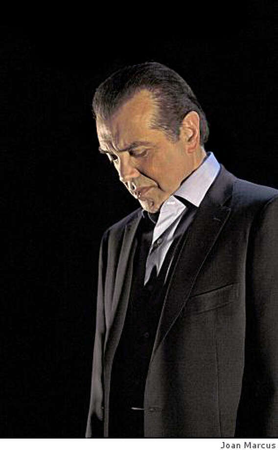 "Chazz Palminteri in ""A Bronx Story"" playing at Golden Gate Theater . Photo: Joan Macus Joan Marcus, Joan Marcus"