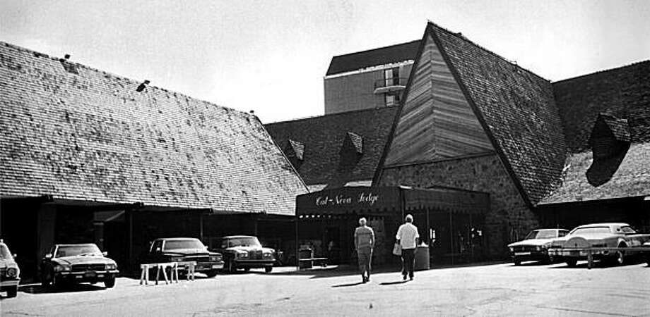 In this photo taken in the early 1980's, The Cal Neva Lodge in Crystal Bay, Nev., is seen. Before the Las Vegas Strip ruled the gambling world, Frank Sinatra, Dean Martin and Sammy Davis Jr. helped make the Cal Neva Lodge one of Nevada's coolest casinos in the 1960s. Photo: Reno Gazette-Journal File, AP