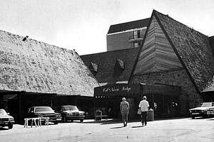 In this photo taken in the early 1980's, The Cal Neva Lodge in Crystal Bay, Nev., is seen. Before the Las Vegas Strip ruled the gambling world, Frank Sinatra, Dean Martin and Sammy Davis Jr. helped make the Cal Neva Lodge one of Nevada's coolest casinos in the 1960s. On Wednesday, April 31, 2010, roulette wheels will stop spinning and blackjack games will cease at Sinatra's old resort that straddles the Nevada-California border on Lake Tahoe's north shore at Crystal Bay.