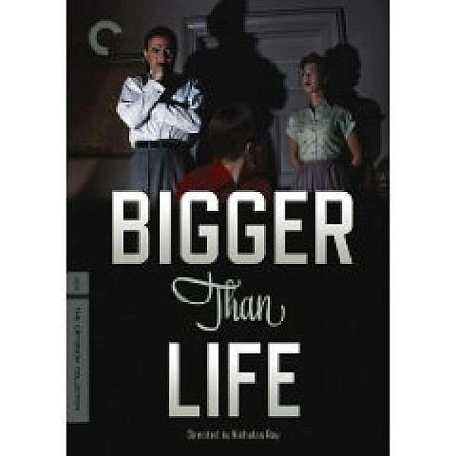 dvd cover BIGGER THAN LIFE Photo: Amazon.com