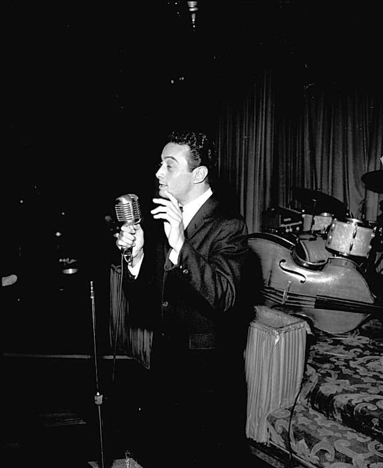 Comedian Lenny Bruce. Photo: Chronicle File Photo