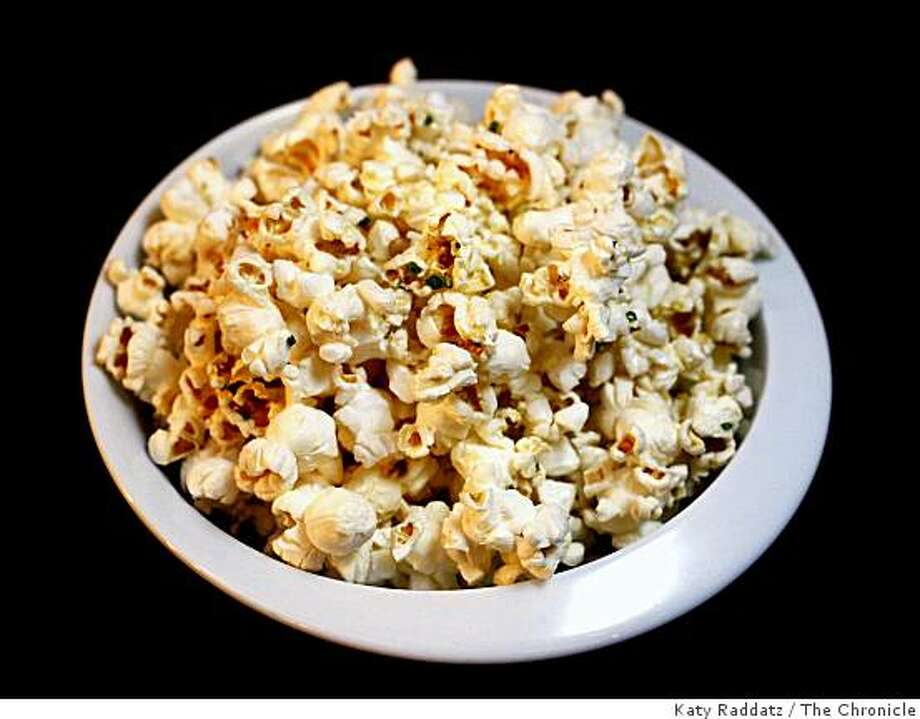 Black Truffle Popcorn served at Clock Bar, which is owned by Michael Mina, in the lobby of the Westin St. Francis in San Francisco, Calif. on Wednesday, Sept. 10, 2008. Photo: Katy Raddatz, The Chronicle