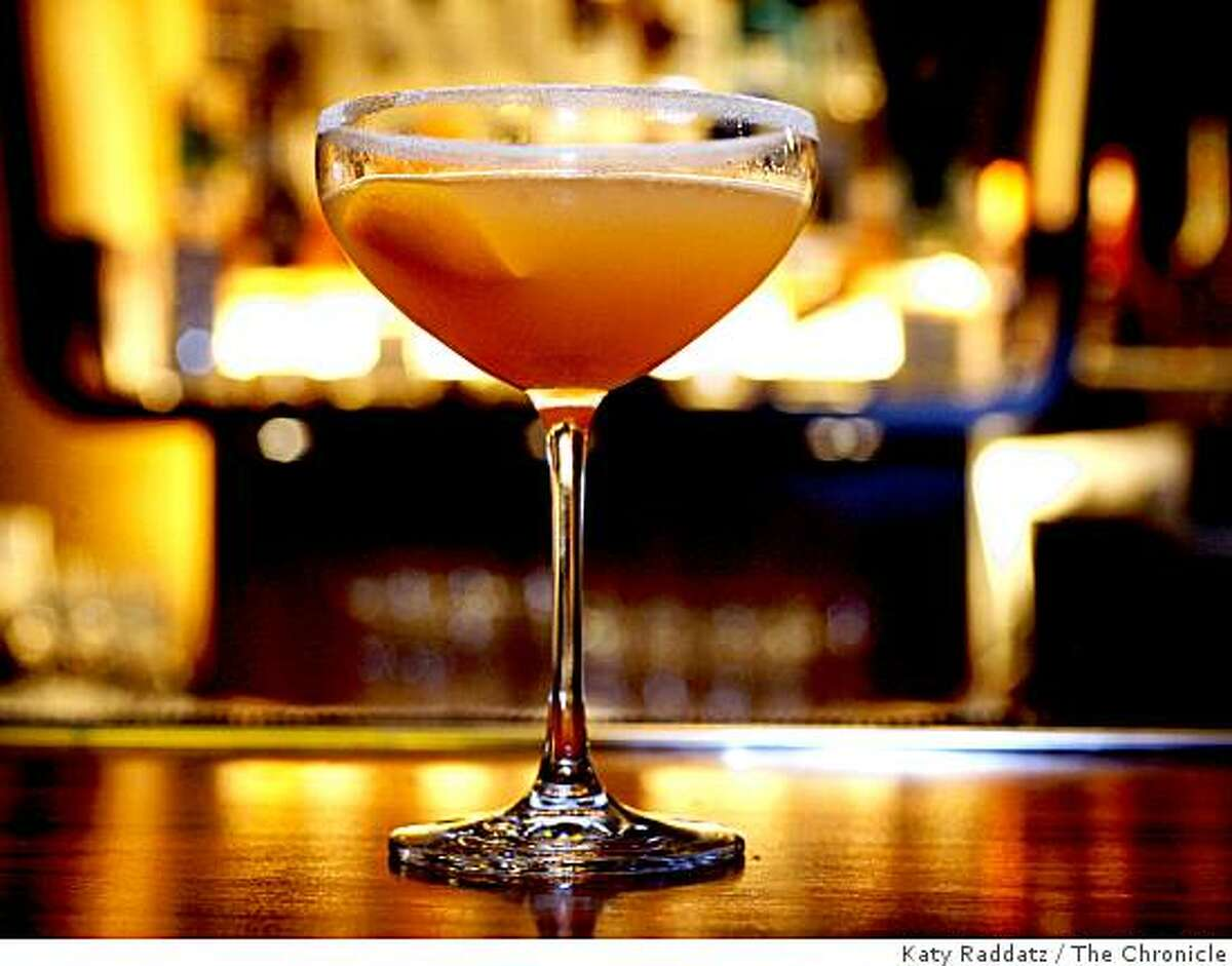 The Sidecar served at Clock Bar, which is owned by Michael Mina, in the lobby of the Westin St. Francis in San Francisco, Calif. on Wednesday, Sept. 10, 2008.
