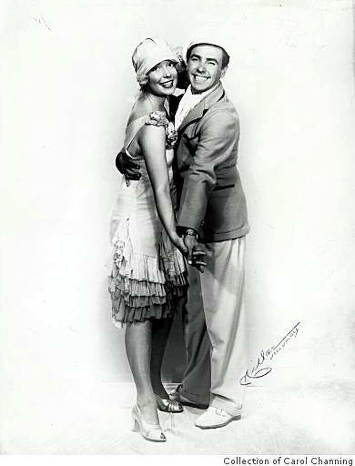 "Carol Channing in ""The Gladiola Girl"" with William Eythe in ""Lend an Ear,"" 1948. Channing's part of Little Pru in ""The Gladiola Girl"" ketch in ""Lend an Ear"" firt brought her to Broadway attention. Photo: Collection Of Carol Channing"