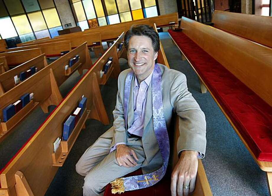 The Reverend Daniel Christian has been the pastor at St. Luke Presbyterian Church in San Rafael, CA. since May of 2009. Photo: Brant Ward, The Chronicle