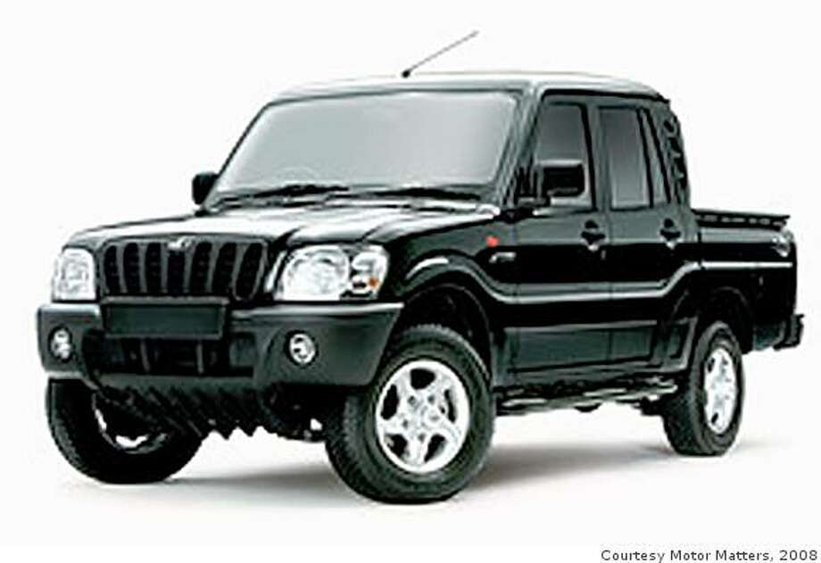 The U.S. version of the yet-to-be named compact pickup truck will be similar to this Mahindra model sold in India. Photo: Courtesy Motor Matters, 2008