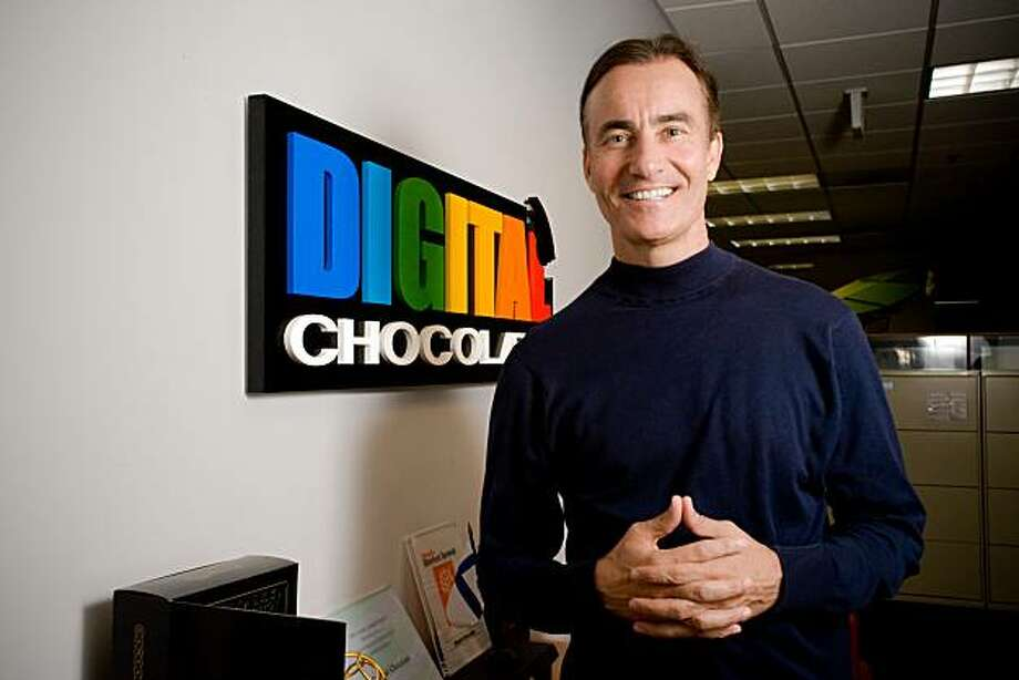 Trip Hawkins, the founder of video game giant Electronic Arts and currently CEO of Digital Chocolate Photo: Kim Mendoza