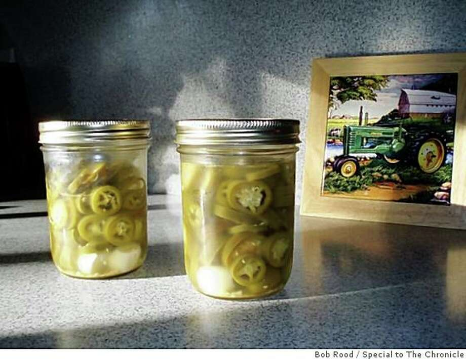 Pickled jalapenos Photo: Bob Rood, Special To The Chronicle