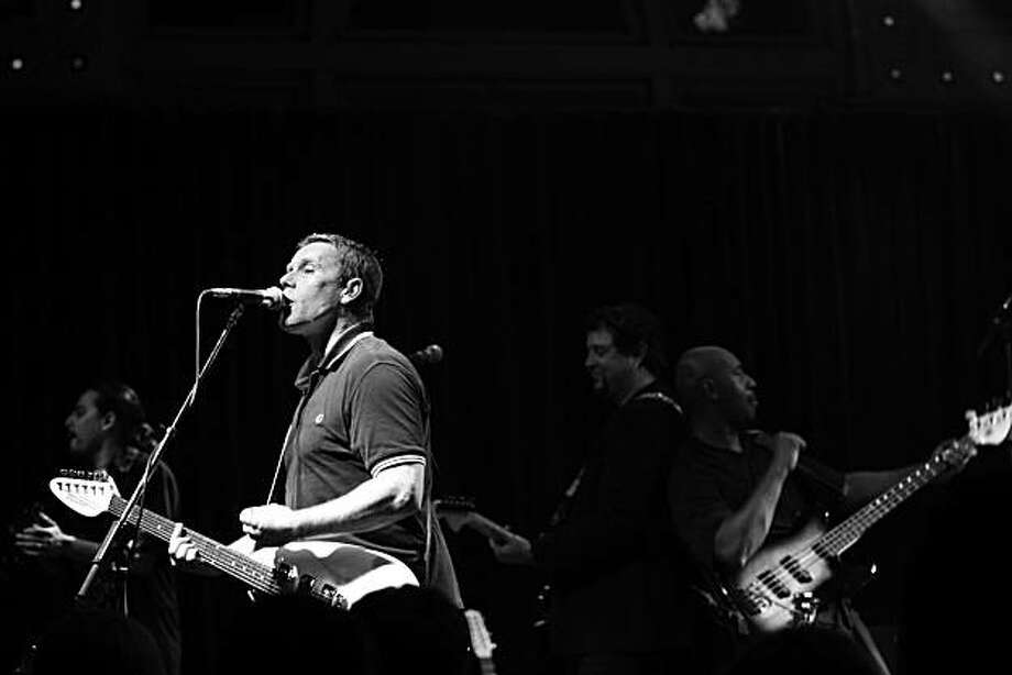 Dave Wakeling of The English Beat. The English Beat perform in Portland Oregon at McMenamins Crystal Ballroom.  Portland OR December 4, 2006 � Jackie Butler / Retna Ltd. Photo: Jackie Butler