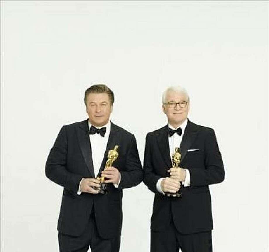 Alec Baldwin and Steve Martin, co-hosts of the 2010 Academy Awards Photo: Monstersandcritics.com