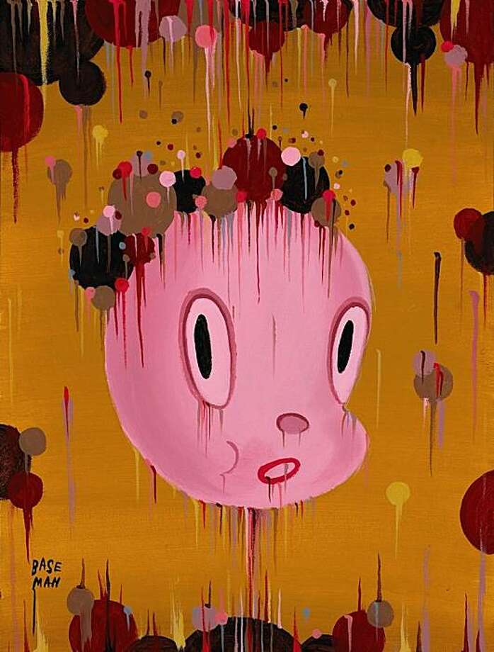 """Gary Baseman's """"Release of Gertrude #4"""" is part of a 40-year retrospective of art from local underground publisher Last Gasp. Photo: Courtesy Of 111 Minna Gallery"""