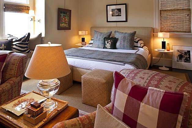 The master bedroom. Photo: Peter DaSilva, Special To The Chronicle