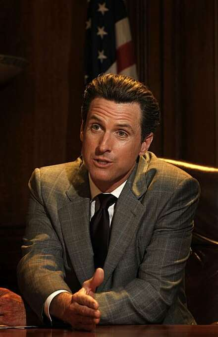 Mayor Gavin Newsom shares his thoughts on the  decision by the California Supreme Court  to uphold Proposition 8 which defines marriage between a man and a woman, in his City Hall office in San Francisco, Calif. on Tuesday May 26, 2009. Photo: Michael Macor, The Chronicle
