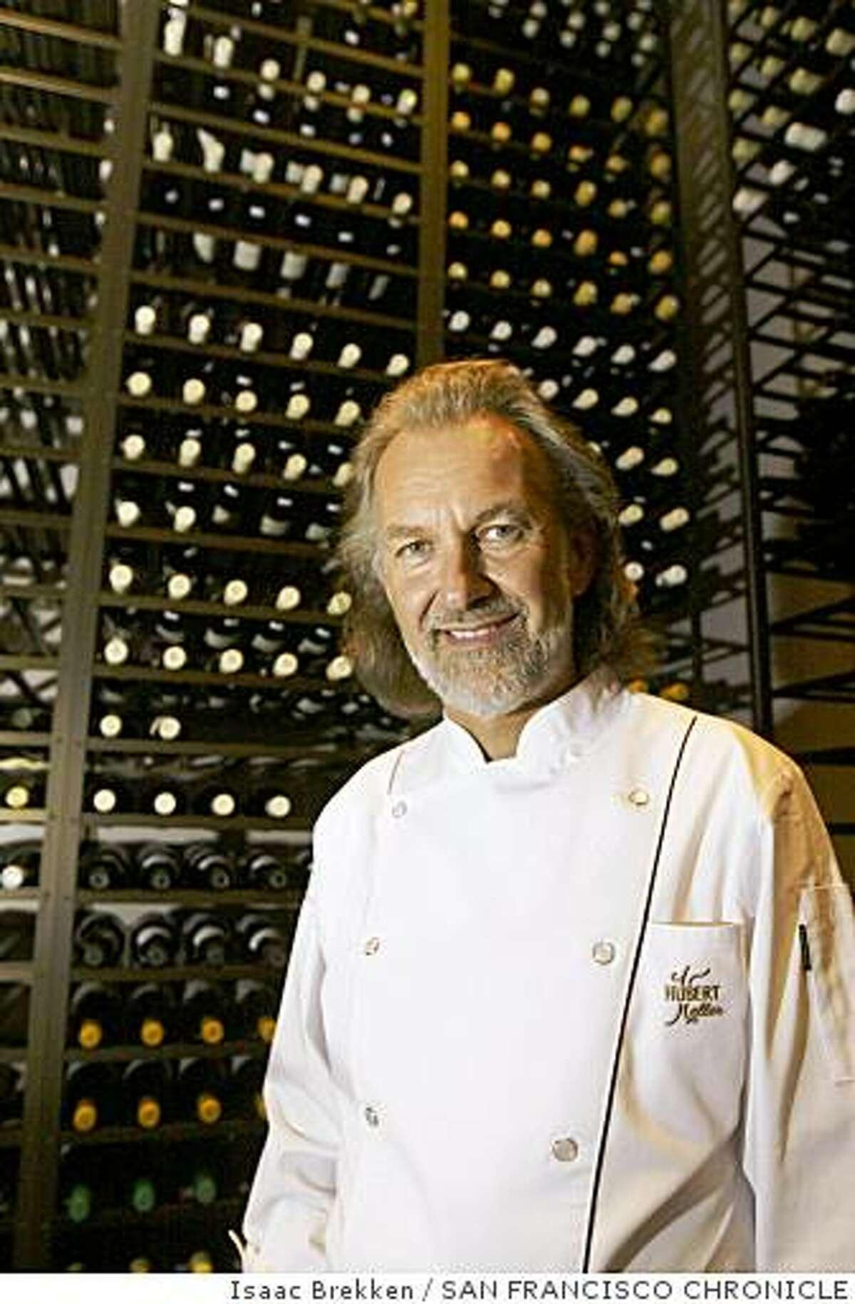 Chef Hubert Keller at his restaurant Fleur de Lys at Mandalay Bay in Las Vegas in 2005.