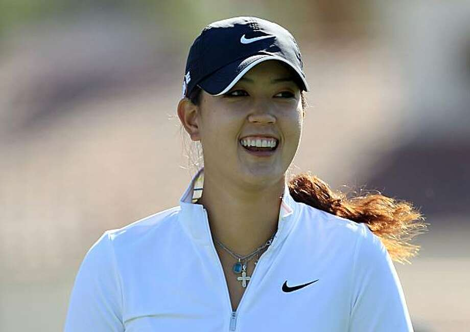 RANCHO MIRAGE, CA - MARCH 31:  Michelle Wie of the USA on the tee at the 3rd hole during the pro-am as a preview for the 2010 Kraft Nabisco Championship, on Dinah Shore Course at The Mission Hills Country Club, on March 31, 2010 in Rancho Mirage, California. Photo: David Cannon, Getty Images