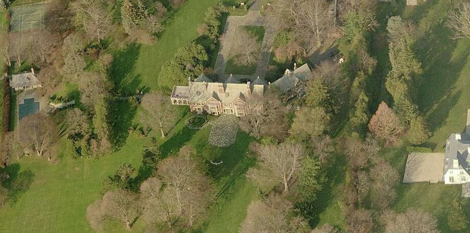 The 20-acre Sasco Hill estate owned by Bradley and Karin Jack tops the list of the town's deliquent taxpayers. Back taxes of $271,923 are owned on the property. Photo: Contributed Photo / Fairfield Citizen
