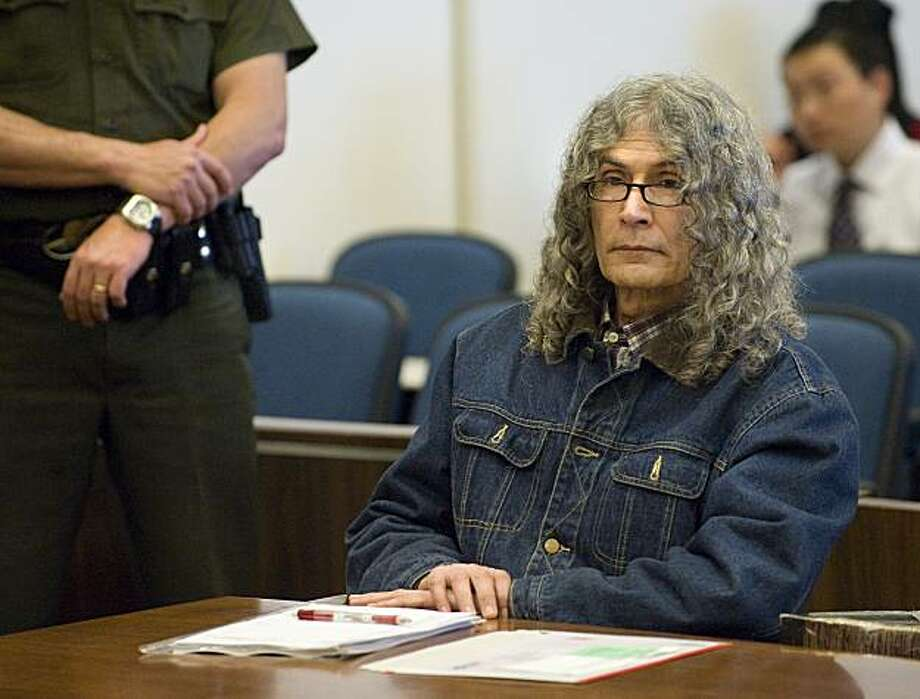 ** CORRECTS TIME OF PHOTO TO AFTER DEATH SENTENCE WAS PRONOUNCED**Serial killer Rodney Alcala sits quietly after hearing the death sentence pronounced by Judge Francisco Briseno in a Santa Ana, Calif. courtroom, March 30, 2010. Alcala has been sentenced to death for killing four women and a girl in the 1970s. Photo: Michael Goulding, AP