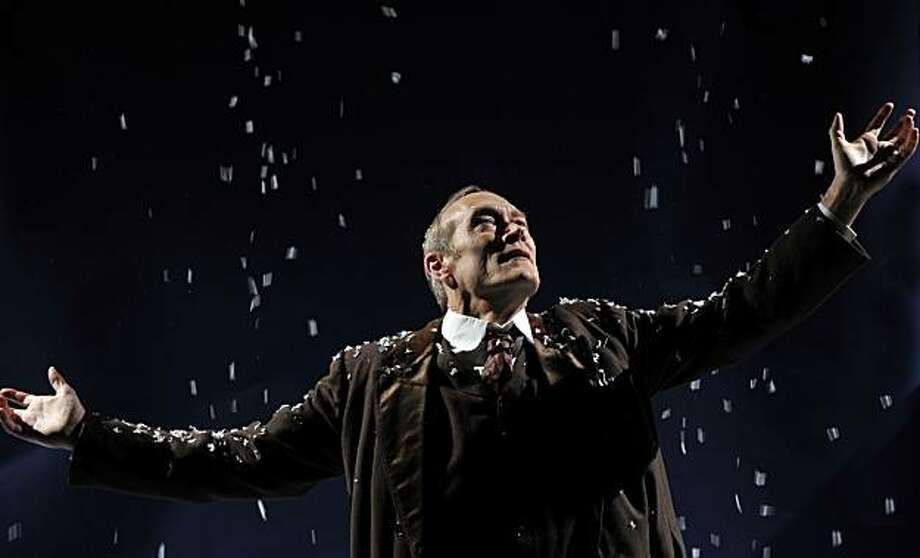 """James Carpenter stars in """"John Gabriel Borkman"""" at Aurora Theatre. Photo: David Allen"""