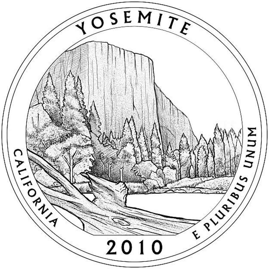 Design of the California quarter image in the U.S. Mint's America the Beautiful Quarter Program. Photo: U.S. Mint