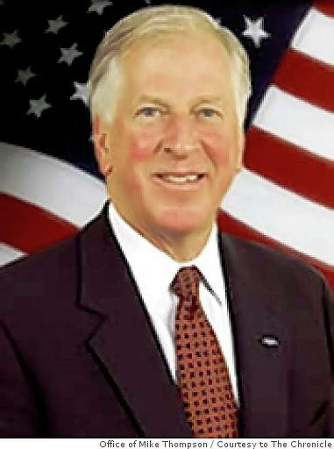 U.S. Congressman Mike Thompson. Thompson is a Democrat and the representative from California's first district. Photo: Office Of Mike Thompson, Courtesy To The Chronicle