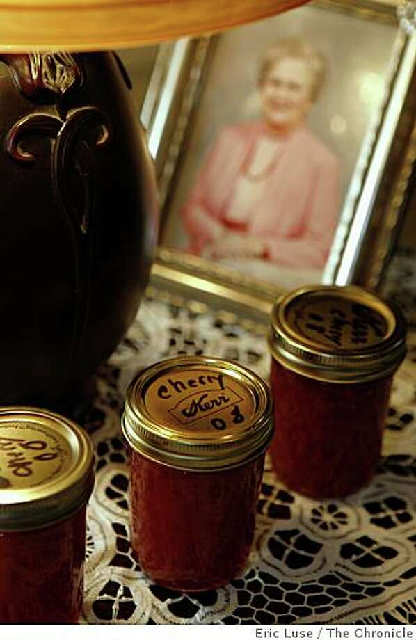 Scott Terry's grandmother was a huge inspiration for his own jam making. Photo: Eric Luse, The Chronicle