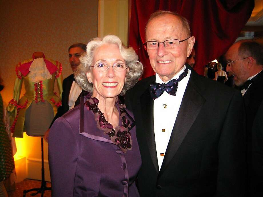 Sharon and Barclay Simpson have been mainstays in the Bay Area philanthropic scene for decades. Barclay is a Cal grad, and founder and chairman of Simpson Manufacturing. His wife, Sharon, a Cal Shakes executive committee member has also made an impact. The Simpsons are active in supporting the arts, sponsoring an annual award for graduating M.F.A. students at the California College of the Arts in Oakland, Calif. Photo: Catherine Bigelow, Special To The Chronicle