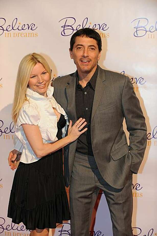Actor Scott Baio and unidentified partner arrive on the red carpet for The Ernest Borgnine Pre-Oscar Party at Universal Studios in Los Angeles, California on March 5, 2010. The 82nd Annual Academy Awards will be held on March 7, 2010 at the Kodak Theatre. Photo: Mark Ralston, AFP/Getty Images