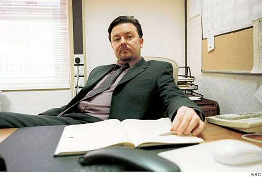 "Ricky Gervais as David Brent in ""the Office."" Photo: BBC"