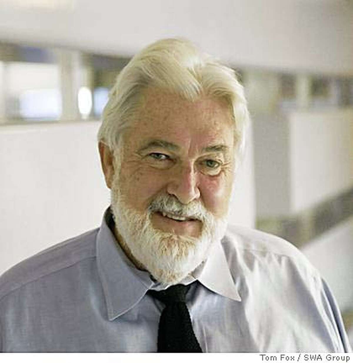 """William Callaway has been honored by the Society of landscape Architects with their ASLA medal for his """"lifetime achievements and contributions to the profession, the welfare of the public and the environment."""""""