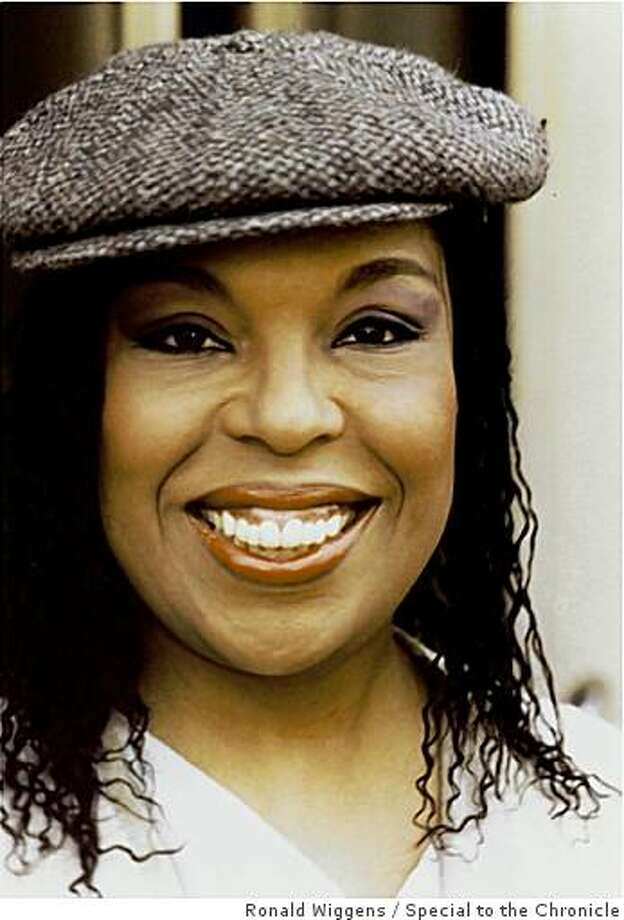 Roberta Flack with hat Photo: Ronald Wiggens, Special To The Chronicle