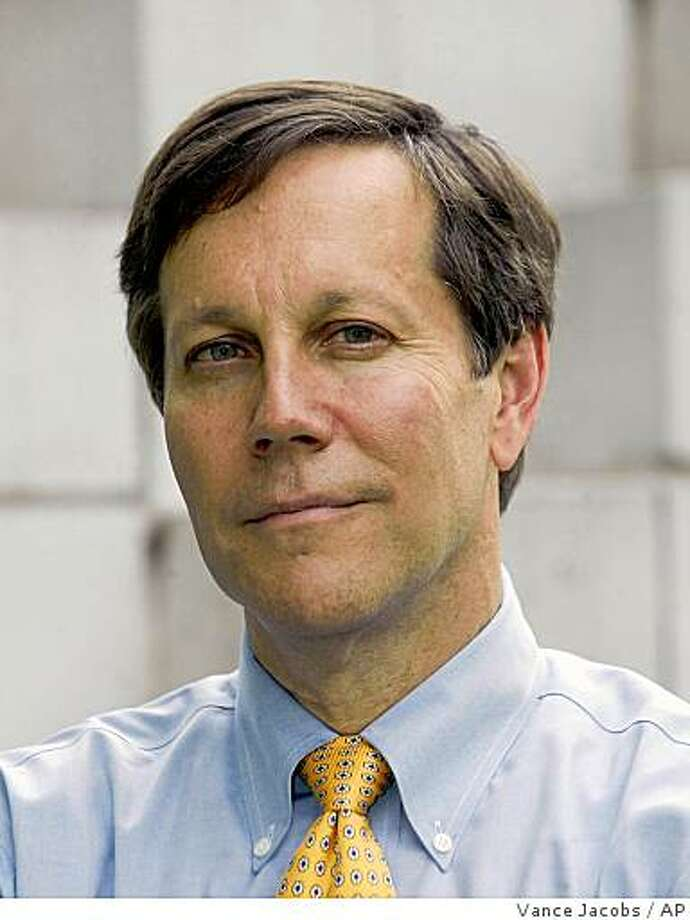 In this undated photo released by the National Endowment for the Arts, shows shows NEA chairman Dana Gioia. The confident baritone of Gioia sounded a little hoarse during a recent telephone interview, as it often has since he became chairman of the National Endowment for the Arts, a job that has exhilarated and exhausted him. (AP Photo/Vance Jacobs, NEA) ** NO SALES ** Photo: Vance Jacobs, AP