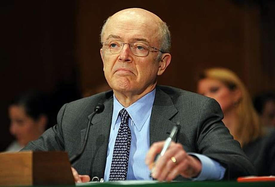 US Assistant Treasury Secretary for Financial Stability, Herbert Allison, testifies during a hearing on the government's assistance to Citigroup at the Dirksen Senate Office Building in Washington, DC, on March 4, 2010. Photo: Jewel Samad, AFP/Getty Images