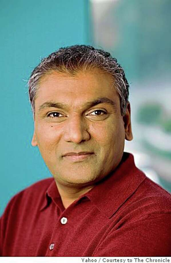 Ash Patel, a veteran at Yahoo will now oversee a large part of the company's underlying technology. Courtesy of Yahoo Photo: Yahoo, Courtesy To The Chronicle