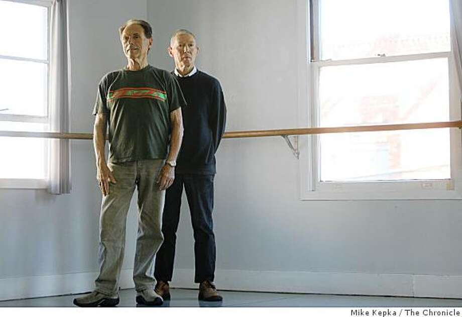 Founders of the Shawl Anderson Dance Center, Frank Shawl and Victor Anderson pose for a portrait on Monday August 11, 2008 in Berkeley, Calif. The Berkeley based dance center is celebrating its 50th year of operation. Photo: Mike Kepka, The Chronicle