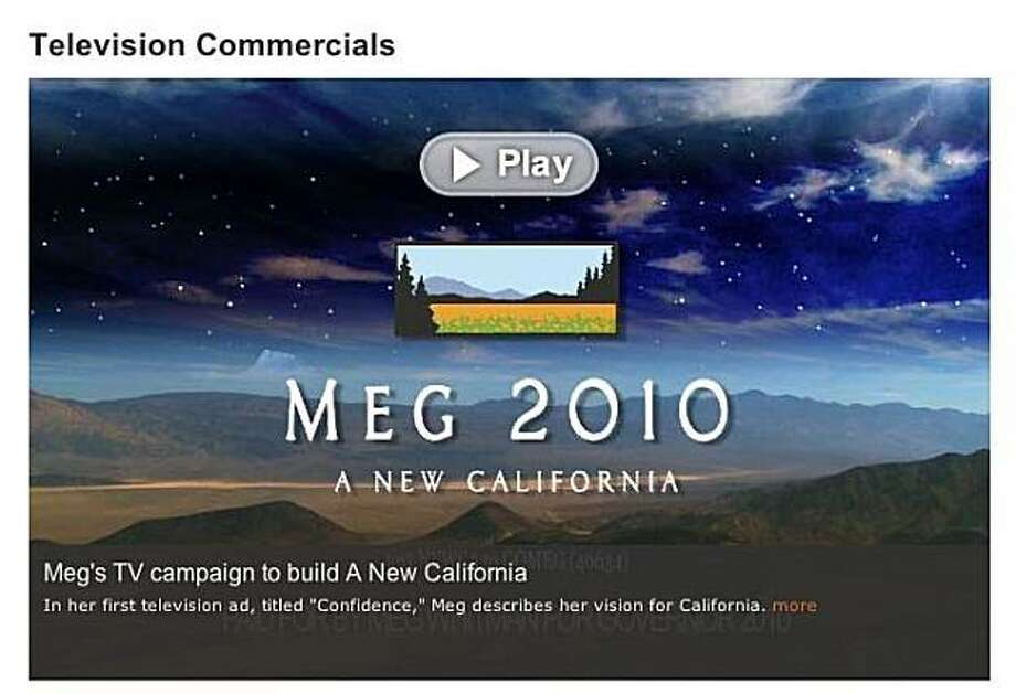 An advertisement paid for by Meg Whitman for Governor 2010.