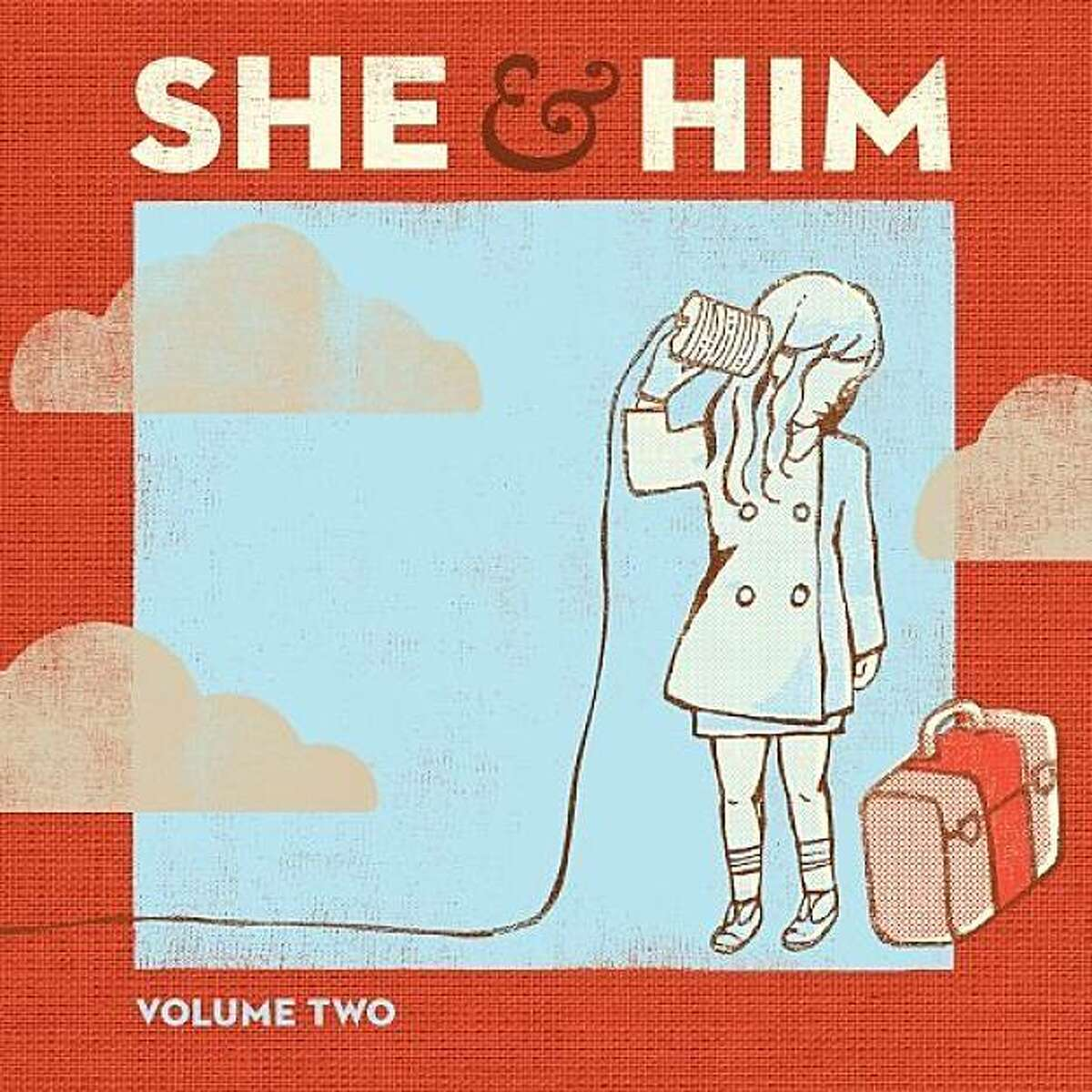 """CD cover, """"Volume Two"""" by She & Him"""