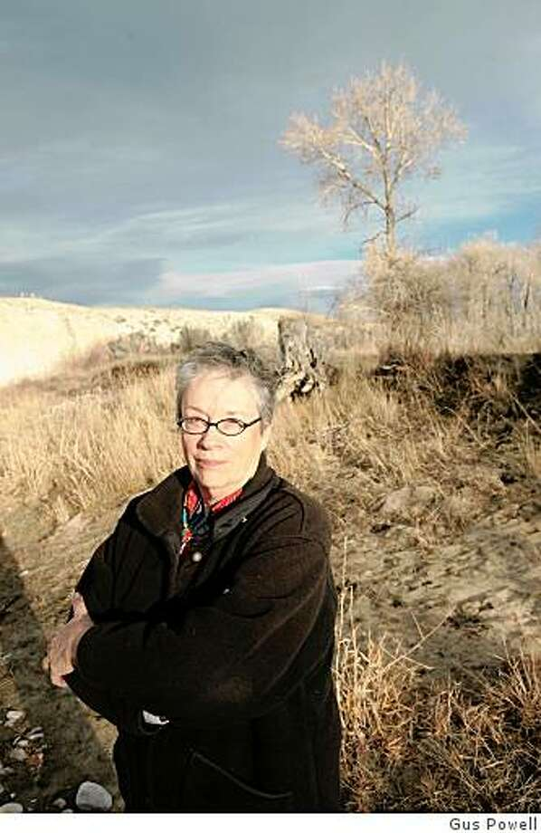 "Annie Proulx, author of ""Fine Just the Way It Is"" / Credit: Gus Powell / FOR USE WITH BOOK REVIEW ONLY Photo: Gus Powell"