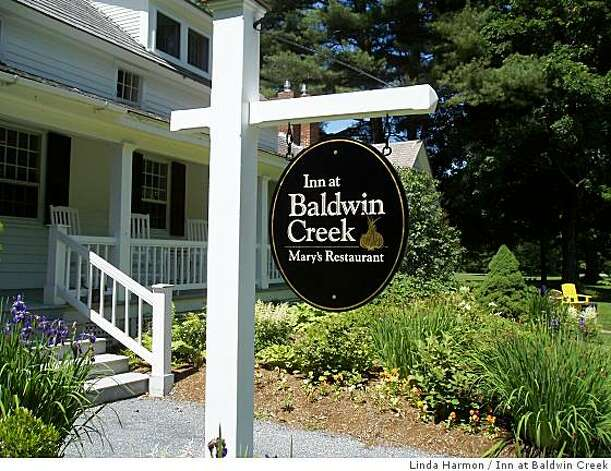 The Inn at Baldwin Creek. Photo: Linda Harmon, Inn At Baldwin Creek