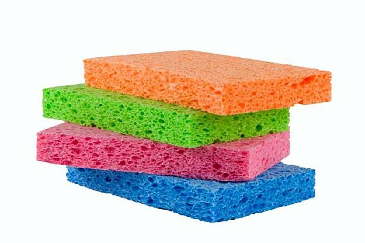 Four sponges