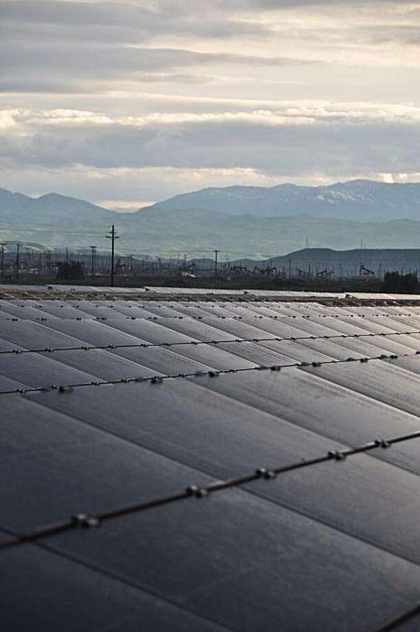 Chevron's Brightfield alternative energy testing division near Bakersfield, CA. Photo: Courtesy Of Chevron